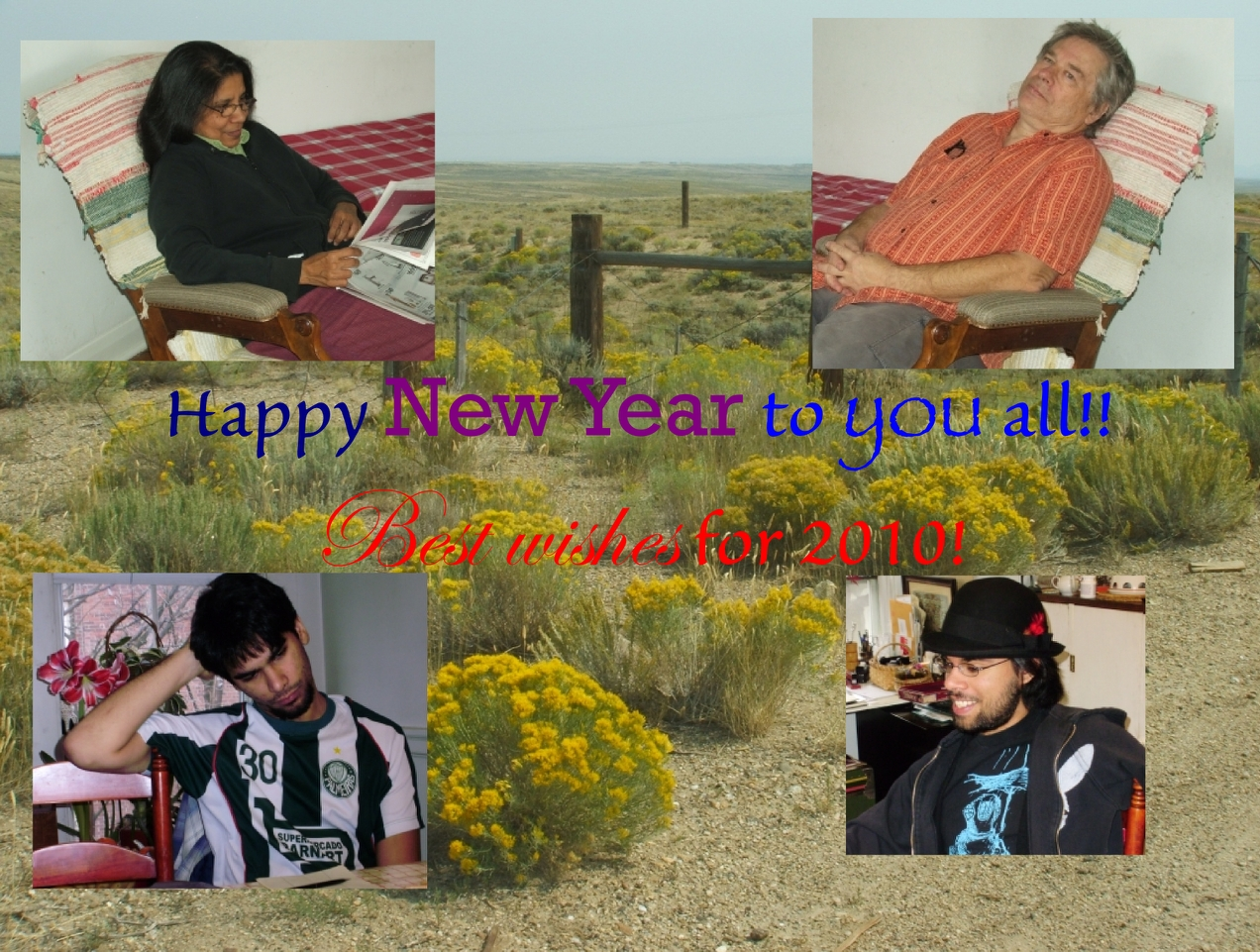 Best wishes for 2010!